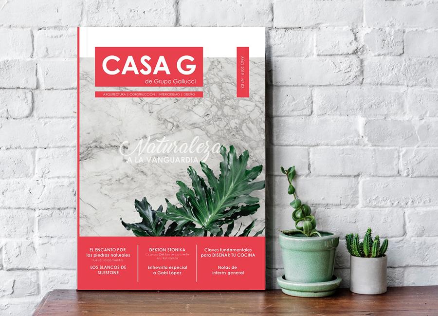 Revista Casa G - Primera Edición - Cocina